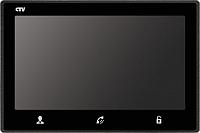 Видеодомофон CTV M4703AHD B (черный) -