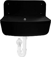 Умывальник для дачи Styron STY-350-F (черный) -