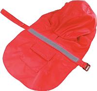 Дождевик для животных Allfordogs 01835 (L, красный) -