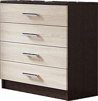 Комод SV-мебель Спальня Эдем 5 Ж (дуб венге/дуб сонома) -