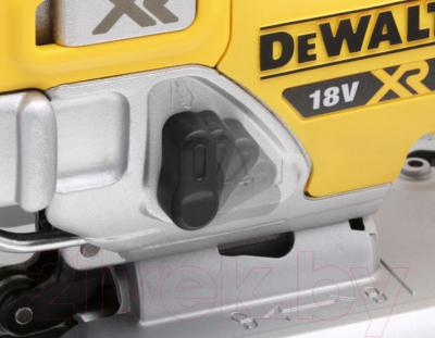 Профессиональный электролобзик DeWalt DCS334N-XJ