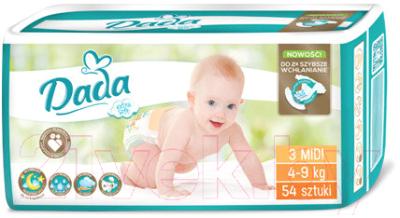 Подгузники детские Dada Extra Soft Midi 3 (54шт)