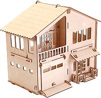 Кукольный домик POLLY Дом с гаражом -