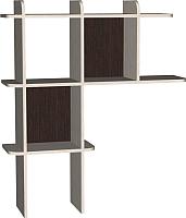 Надстройка для стола Мебель-Класс Имидж-3 (венге/дуб шамони) -