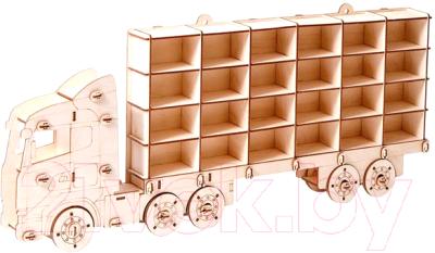 Автовоз игрушечный POLLY Парковка мульти парк / ТР-09