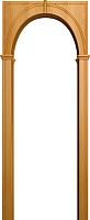 Арка межкомнатная Юркас Палермо 700-1300x190x1800 (миланский орех) -