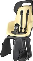 Детское велокресло Bobike Go Carrier / 8012300001 (lemon sorbet) -