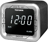Радиочасы Telefunken TF-1505 (черный) -
