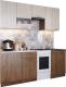 Готовая кухня SV-мебель Магнолия 1.7 (гикори темная/гикори светлая) -