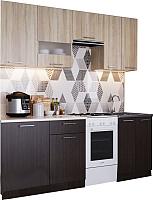 Готовая кухня SV-мебель Магнолия 1.7 (дуб венге/дуб сонома) -