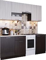 Готовая кухня SV-мебель Магнолия 1.7 (дуб венге/ясень анкор) -