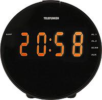 Радиочасы Telefunken TF-1572 (черный) -