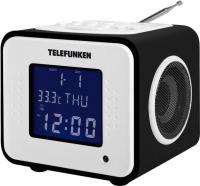 Радиочасы Telefunken TF-1575U (черное дерево) -