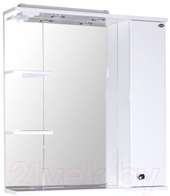 Шкаф с зеркалом для ванной Onika Эльбрус 80.02 R