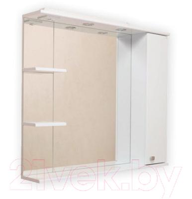 Шкаф с зеркалом для ванной Onika Эльбрус 90.02 R