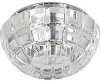 Точечный светильник ЭРА DK45 CH-WH / Б0003019 -