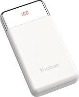 Портативное зарядное устройство Yoobao Power Bank PD 30W (белый) -
