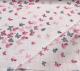 Пеленка детская Пеленкино Крошечке / Mus19002 (бабочки, розовый) -