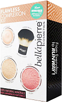 Набор декоративной косметики Bellapierre Flawless Complexion Kit тон Dark -