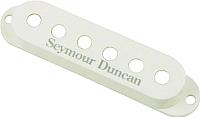 Крышка звукоснимателя Seymour Duncan 11800-01-W S-Cover White Logo -