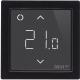 Терморегулятор для теплого пола Devi DEVIreg Smart с Wi-Fi (черный) -