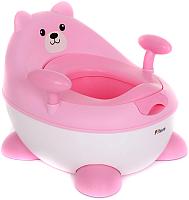 Детский горшок Pituso Мишутка / FG3312 (розовый) -