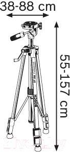 Штатив для измерительных приборов Bosch BT 150 Professional (0.601.096.B00) - схема