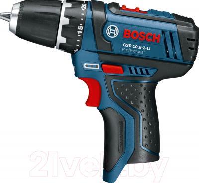 Профессиональная дрель-шуруповерт Bosch GSR 10.8-2-LI Professional (0.601.868.101) - вид сбоку