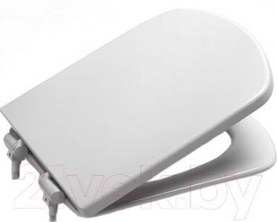 Фото - Сиденье для унитаза Roca Dama Senso A801511004 крышка сиденье для унитаза roca dama senso zru9302820 дюропласт с микролифтом белый