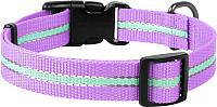 Ошейник Collar Waudog Nylon 45649 (фиолетовый) -