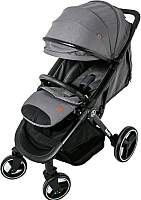 Детская прогулочная коляска Babyzz B100 (светло-серый) -