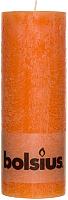 Свеча Bolsius 190/68 (апельсин) -