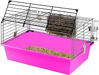 Клетка для грызунов Ferplast Cavie 60 / 57012411W2 (розовый) -