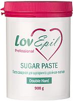 Паста для шугаринга LovEpil Double Hard сахарная (900г) -