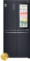 Холодильник с морозильником LG DoorCooling+ GC-Q22FTBKL -