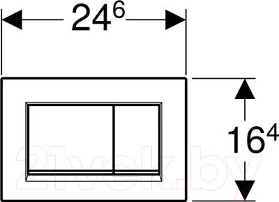 Кнопка для инсталляции Geberit Sigma 30 New 115.883.JT.1