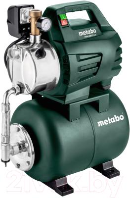 Насосная станция Metabo HWW 4000/25 Inox насосная станция metabo hww3500 25inox 900вт 600969000