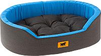 Лежанка для животных Ferplast Dandy 95 / 82945099 (черный/синий) -