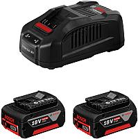 Набор аккумуляторов для электроинструмента Bosch GBA 18В с зарядным GAL 18V-40 (1.600.A01.9S0) -