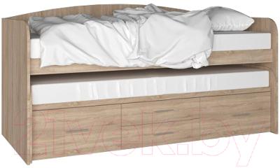 Двухъярусная выдвижная кровать детская Артём-Мебель СН 108.02