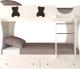 Двухъярусная кровать Артём-Мебель СН 108.01 (венге/сосна) -