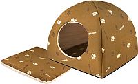 Домик для животных Дарэлл Юрта / RP9633 (коричневый) -
