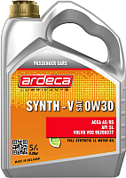 Моторное масло Ardeca Synth-V 0W30 / P01181-ARD005 (5л) -