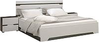 Комплект мебели для спальни Горизонт Мебель Анталия (венге/белый софт) -