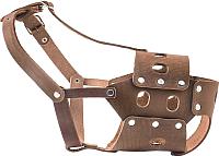 Намордник для собак Дарэлл № 6 / DA050006 (коричневый) -