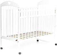 Детская кроватка Bambini Comfort М / 01.10.18 (белый) -