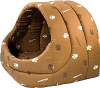 Домик для животных Дарэлл Лукошко / RP9753 (коричневый) -