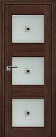Дверь межкомнатная ProfilDoors 4X 70x200 (орех сиена/стекло матовое/коричневый фьюзинг) -