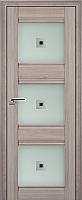 Дверь межкомнатная ProfilDoors 4X 60x200 (орех пекан/стекло матовое/коричневый фьюзинг) -