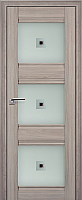 Дверь межкомнатная ProfilDoors 4X 70x200 (орех пекан/стекло матовое/коричневый фьюзинг) -
